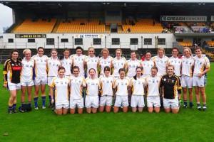 St Brigid's U16 Ladies carry the fight for Antrim!