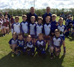 St Brigid's p5 boys runners-up at St Galls May Day tournament