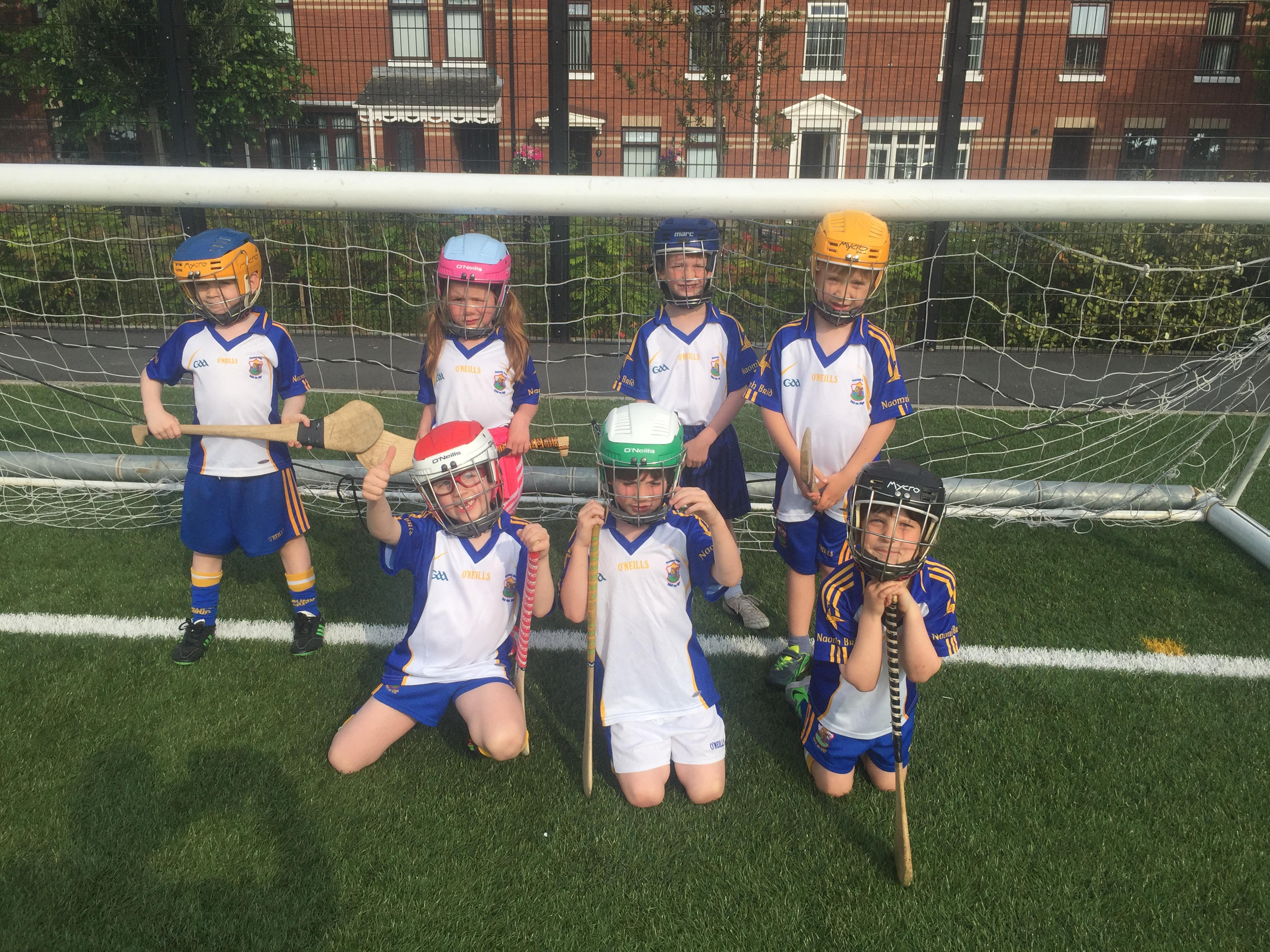 P1/2 Hurlers at Dunville Park –