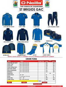 Club Gear for Christmas