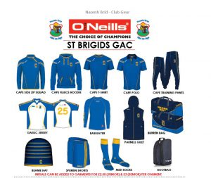 Club Gear New Order Opportunity