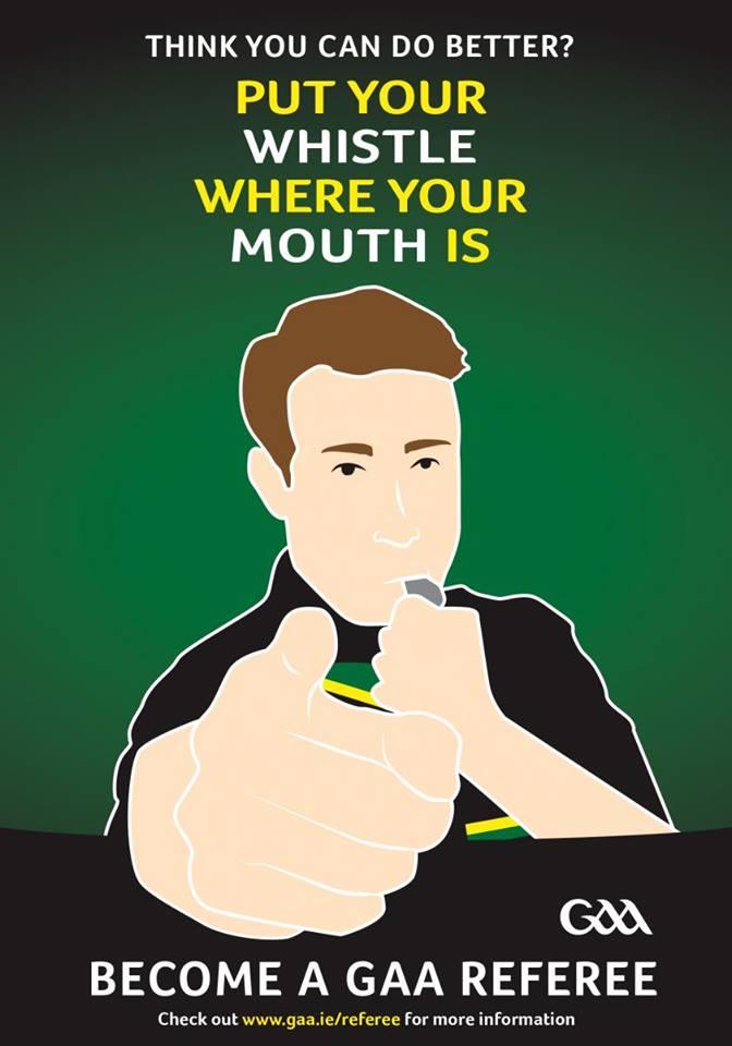 Become a GAA Referee