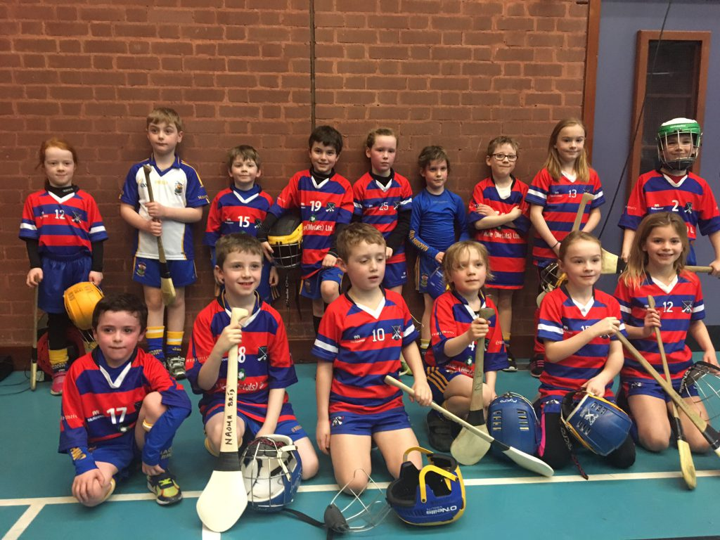 Bríd Óg U8 Hurlers Make History in North Antrim