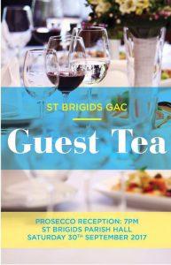 St Brigids GAC Guest Tea