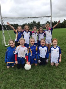 U8 Girls Football Blitz