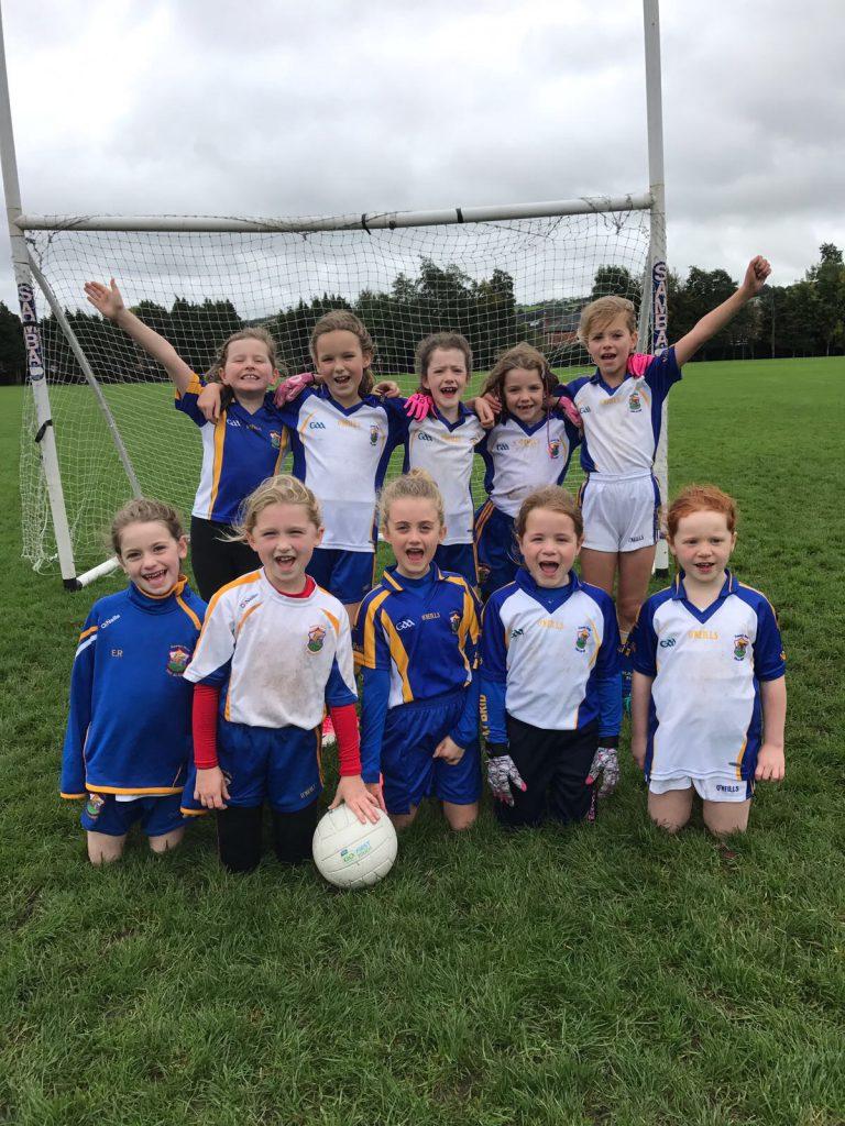 U8 Girls Football Blitz