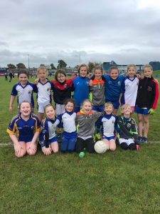 U10 Girls Footballers attend Blitz at St Johns
