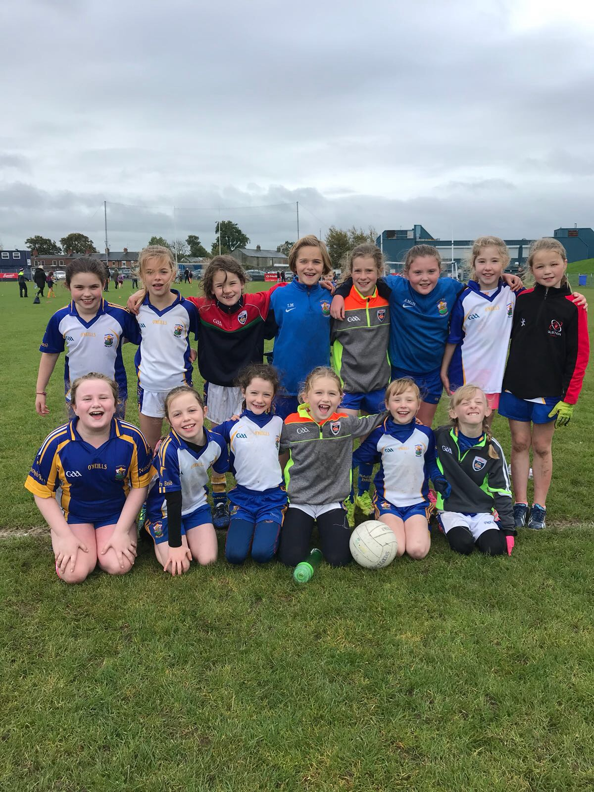 U10 Girls Footballers attend Blitz at St Johns