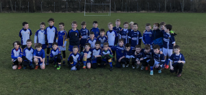 P5 Boys' Footballers Enjoy First Outing Of Year Against St Gall's