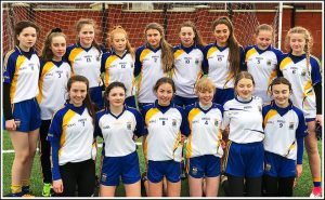 Naomh Bríd Ladies Footballers Enjoy First U16 Winter League