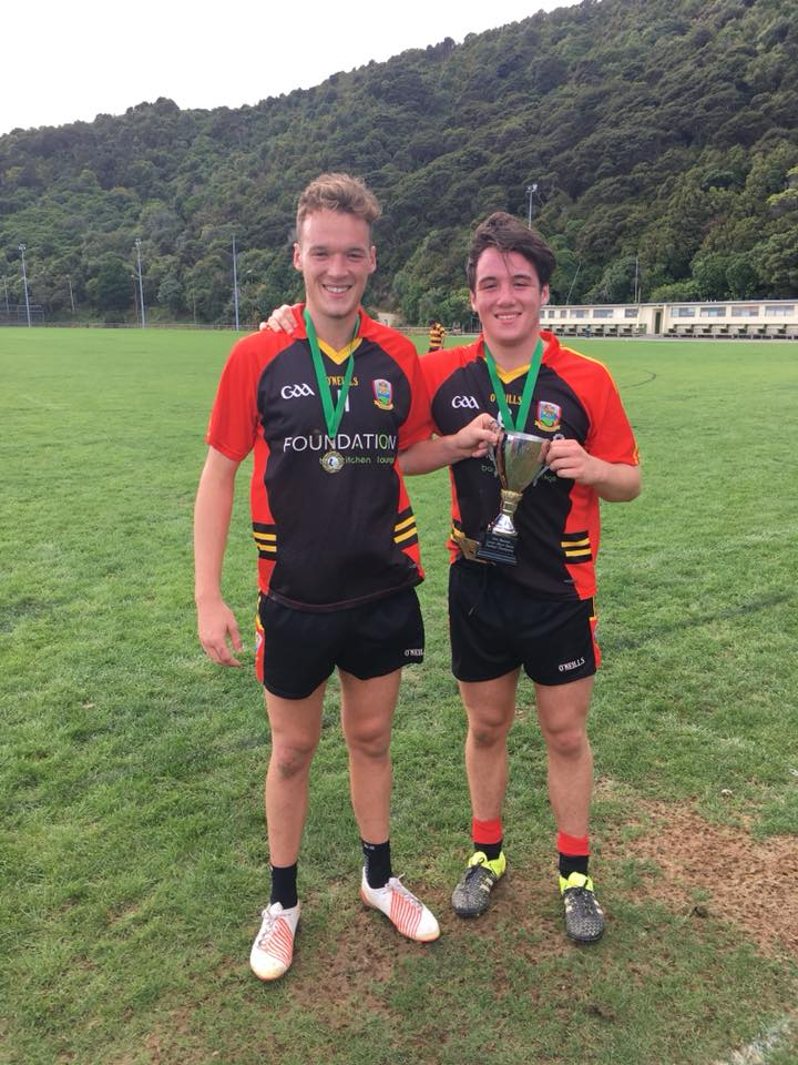 Finnegan Brothers Win New Zealand Junior Championship