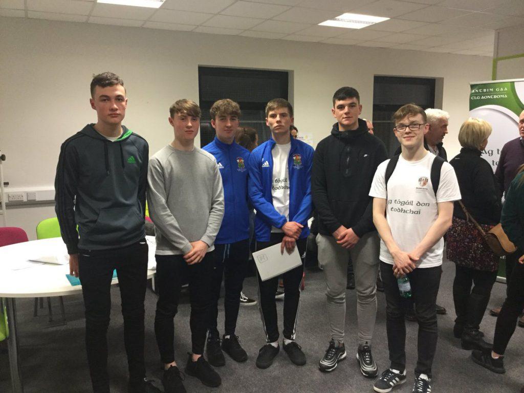 Young St Brigid's Gaels Lead The Way In Dermot Earley Youth Leadership Initiative