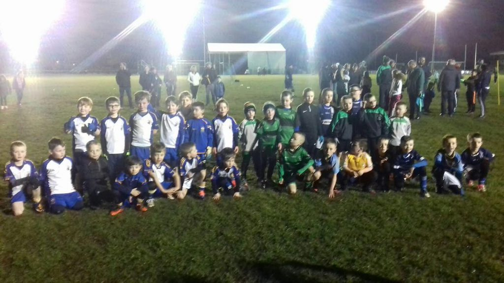 P3s and P4s Host St Gall's And Sarsfield's Under Lights!