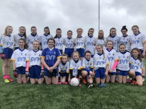 U14 Ladies Footballers Experience Mixed Fortunes In Feile