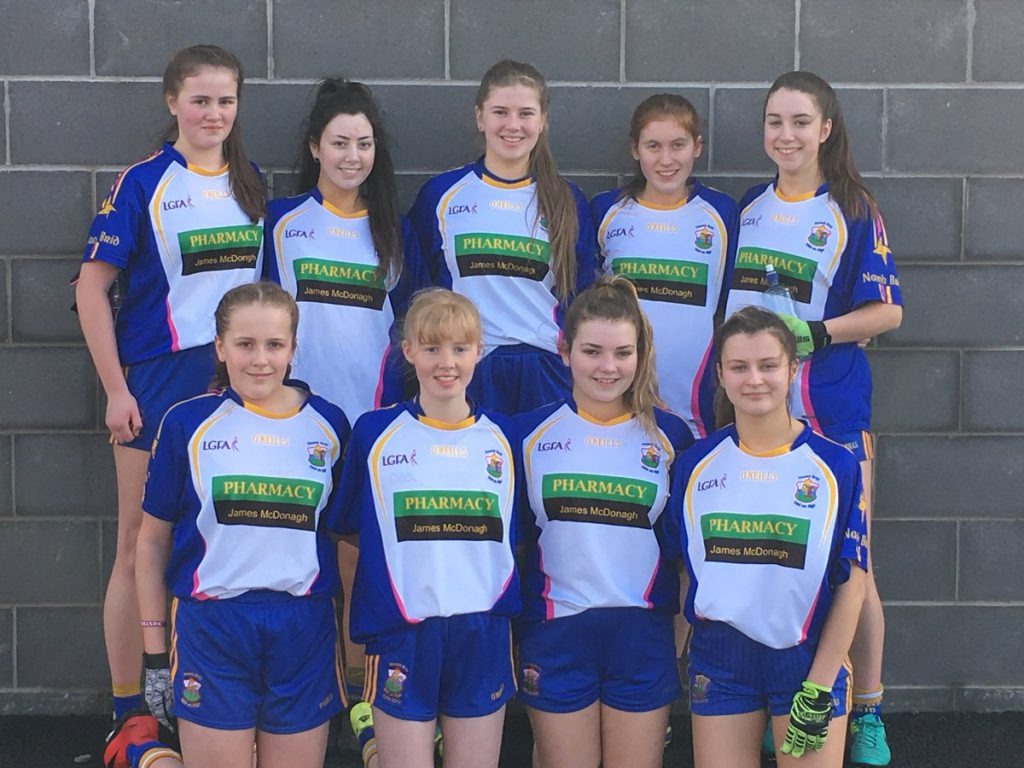 Minor Ladies Participate In Inaugural Sarsfields Tournament While County Stars Shine v Tyrone
