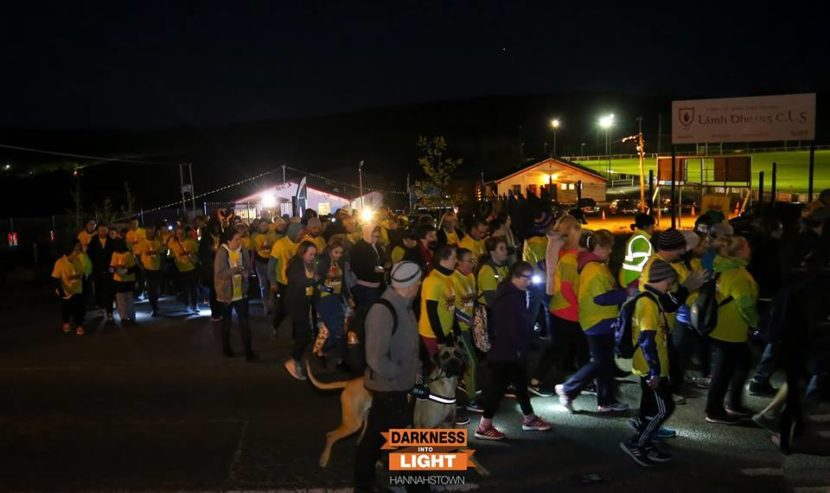 Darkness Into Light Hannahstown: 12th May 2018 – Support Pieta House