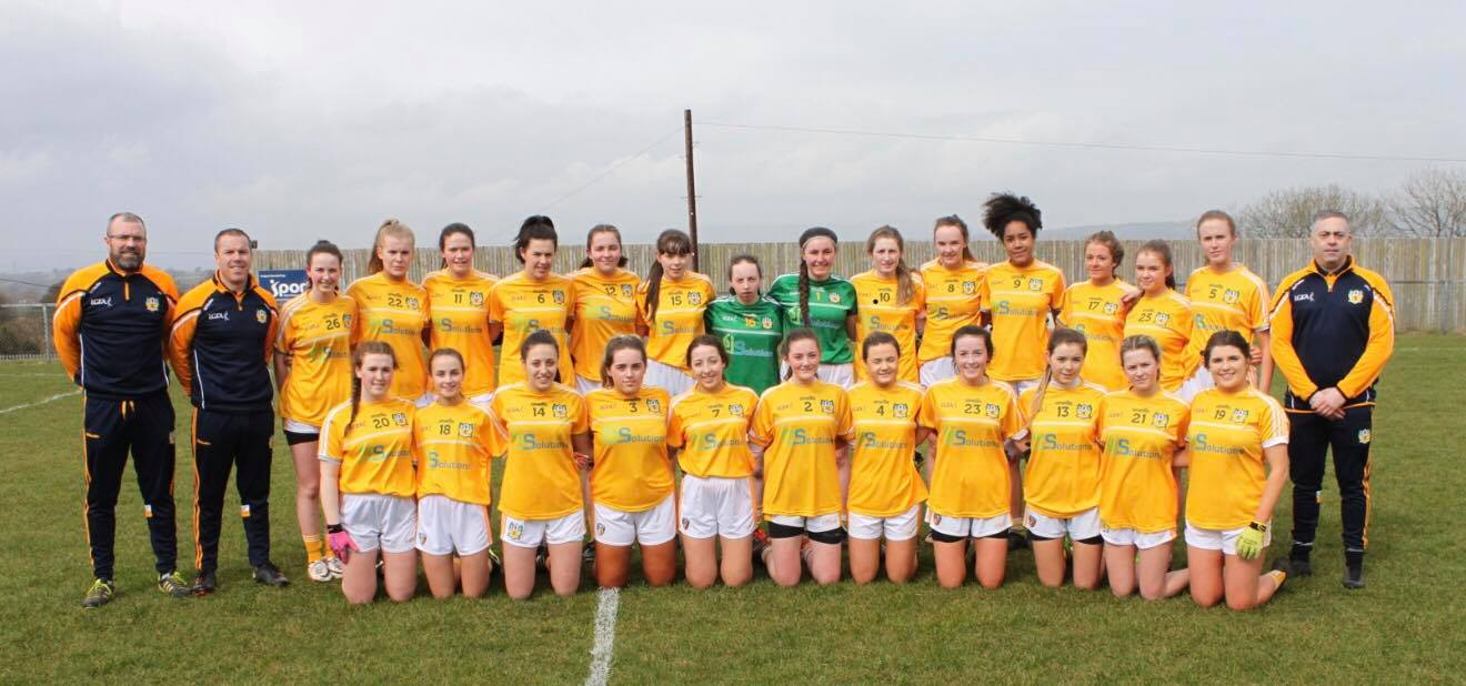 Two Naomh Brid Ladies Feature As Antrim Minors Defeat Donegal In Ulster Quarters