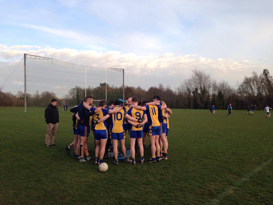 Reserve Men Defeat Aghagallon In Champ First Round