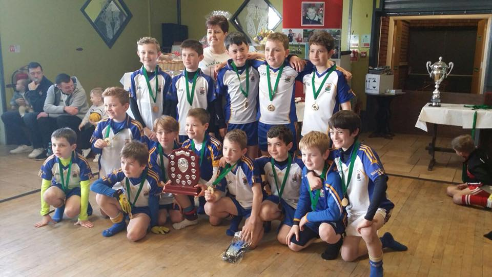 U10 Boys Win Shield In Diarmuid Frazer Tournament