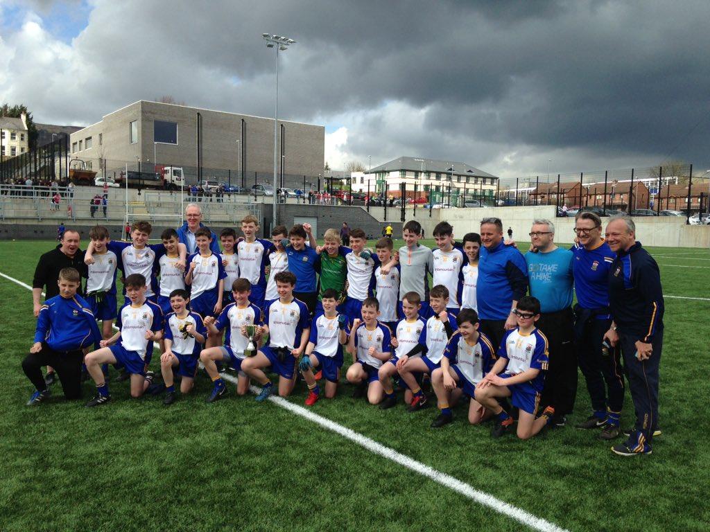 St Brigid's U14 Boys Are Feile Champs 2018!