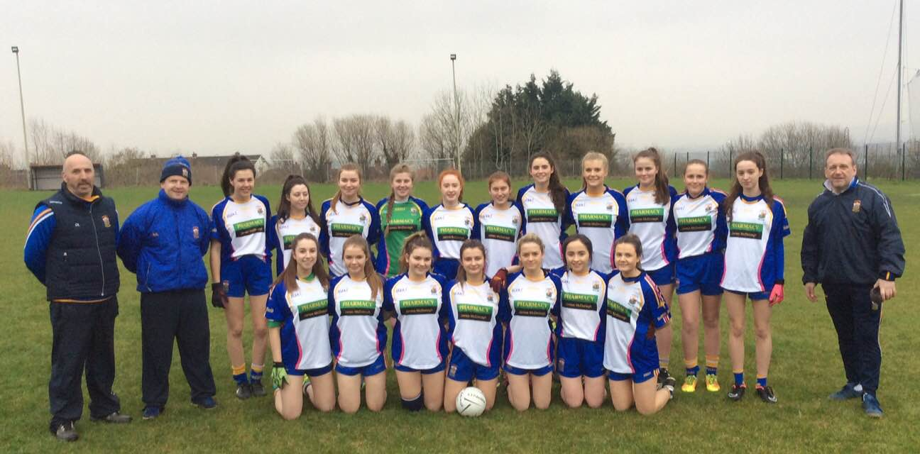 St Brigid's Minor Ladies Make History With First Ever League Win!