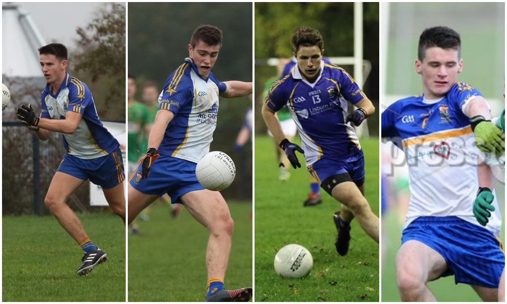 Four St Brigid's Players Make Antrim U20 Panel!