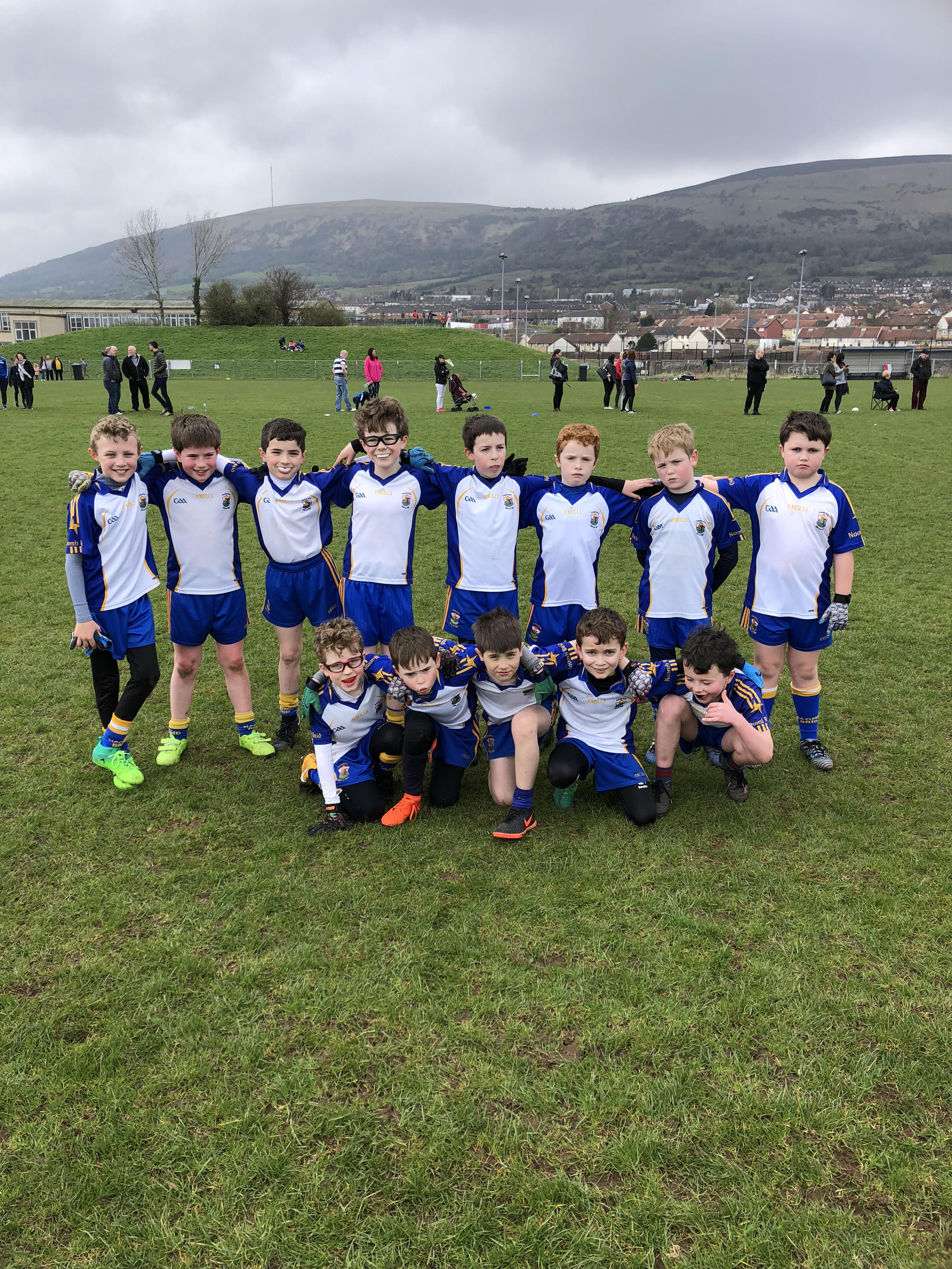 U10s And U8s Have A Blast At O'Donnells And St John's