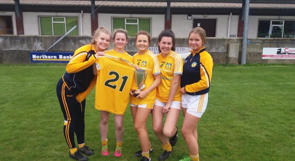 St Brigid's Girls Help Antrim Minors To Ulster Glory