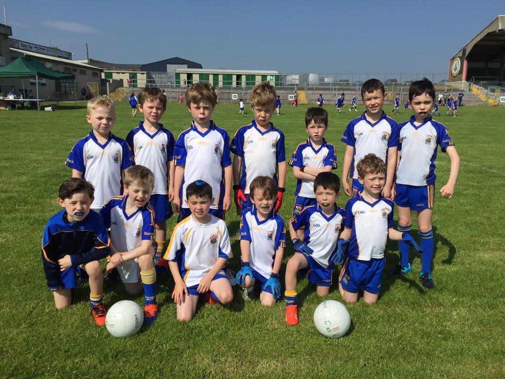 P3/4 Boys Shine at Dungannon Thomas Clarkes