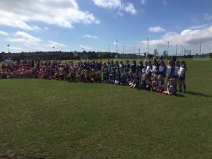 U10 Girls Participate In Fine Blitz At Rossa