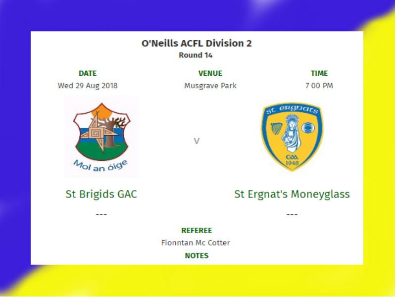 Huge Game For Senior Men Tonight @ Musgrave: Please Come And Support!