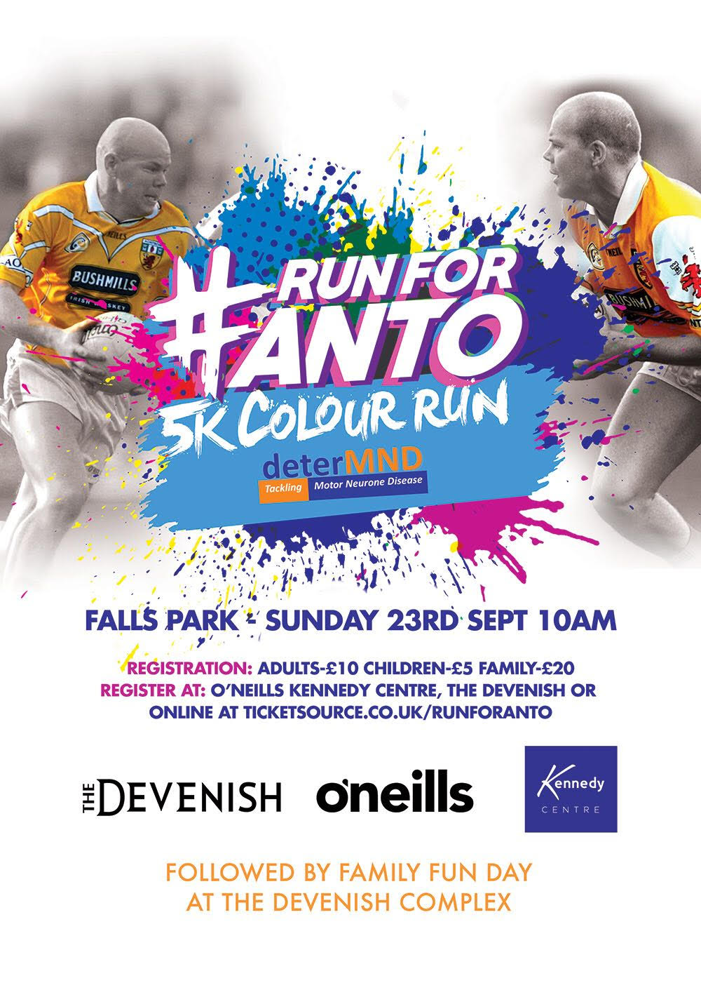 'Run For Anto' Next Sunday 23rd September