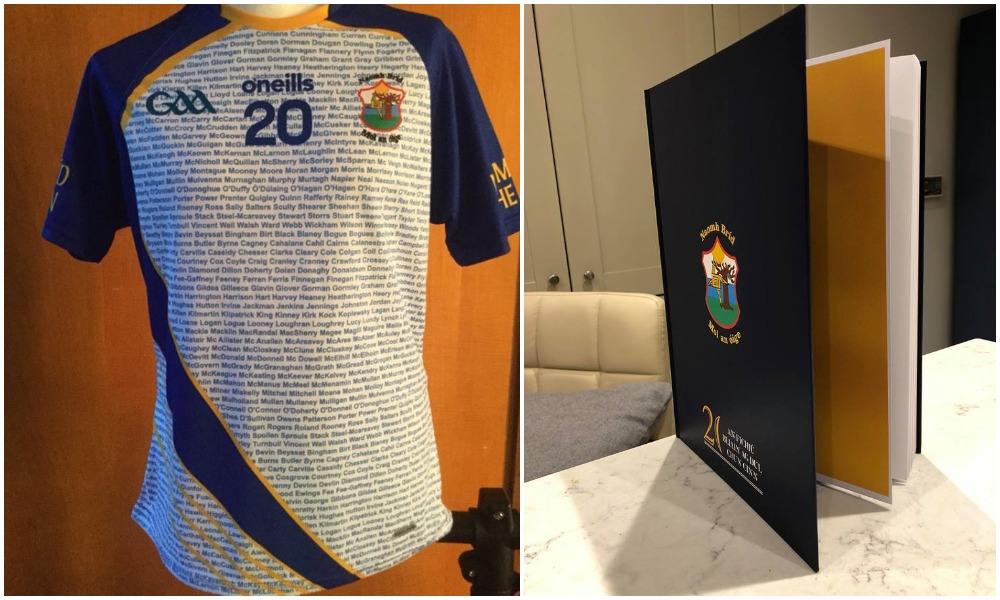 St Brigid's 20th Anniversary Jersey And History Book: Ideal Christmas Presents!