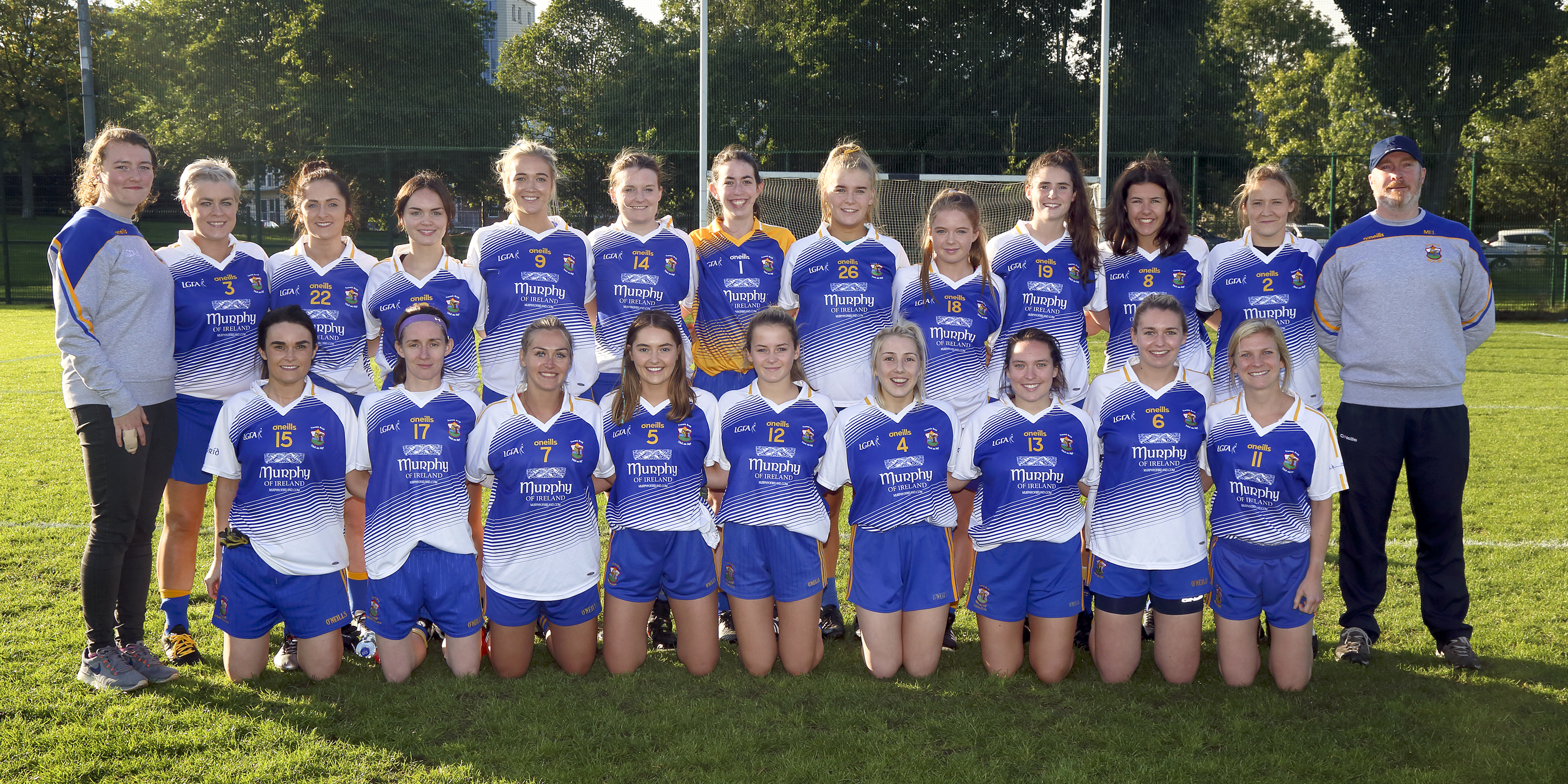 Senior Ladies Win Intermediate Championship!