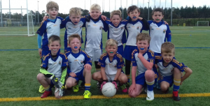 U8s Enjoy Antrim Go Games Blitz