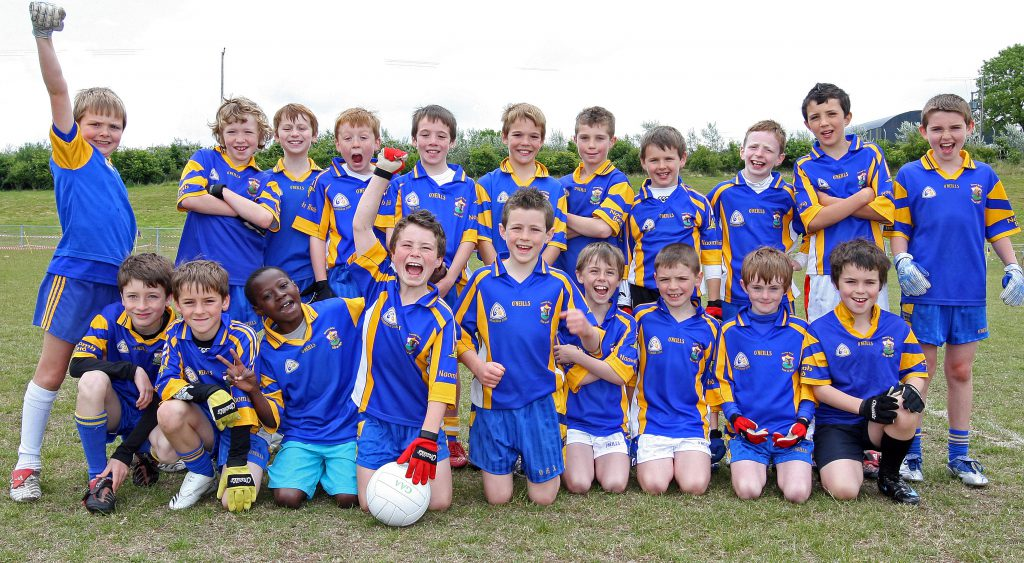 A History Of St Brigid's GAC: Carryduff Tournament (U10) Champions, 2008