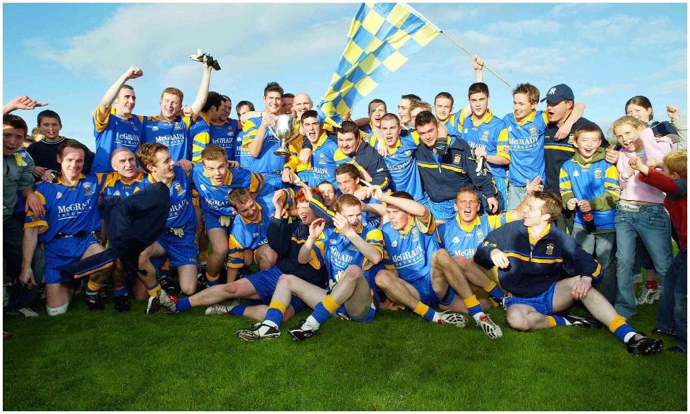 A History Of St Brigid's GAC: Antrim Junior Champions, 2004