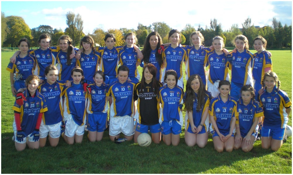 A History Of St Brigid's GAC: U14 Girls Win Club's First Féile 'A' Title, 2010
