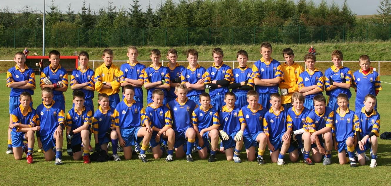 A History Of St Brigid's GAC: U14 Boys Win South Antrim Title, 2007