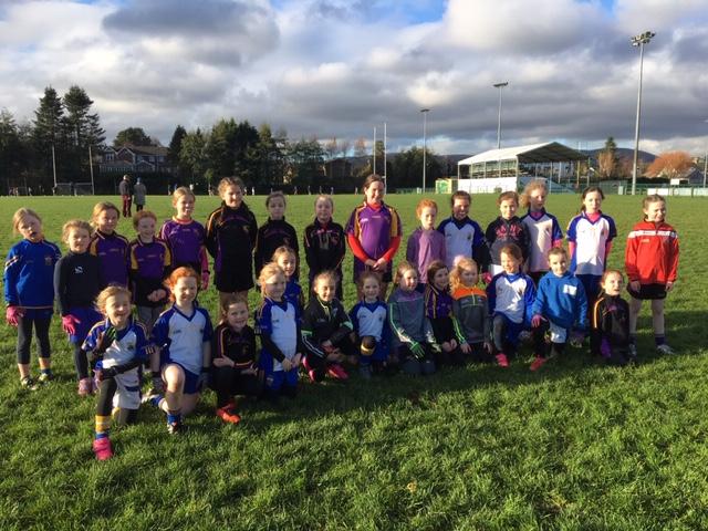 U8 Girl Footballers