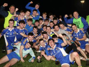 U21s In Ulster Quarter-Final On Sunday 13th January