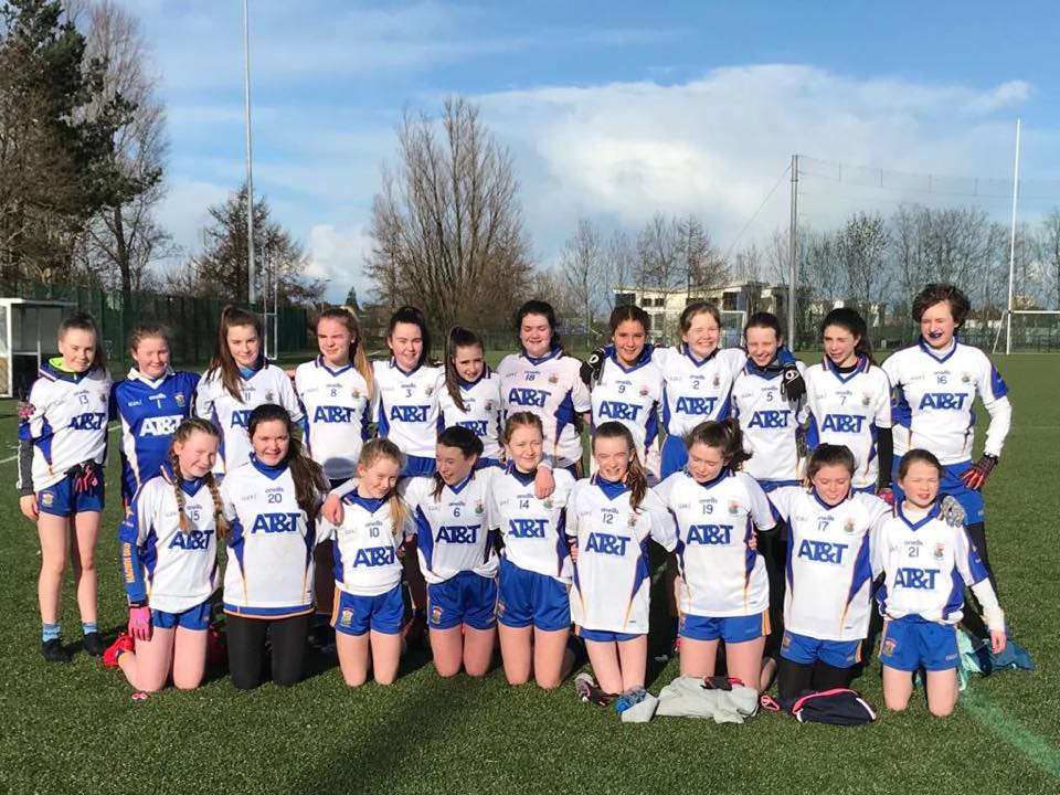 U14 Girls Victorious In First Round Of Feile