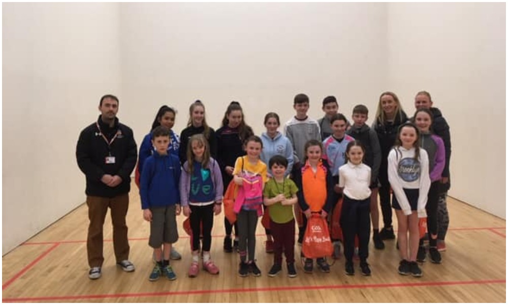 St Brigid's Youngsters Get Taste For Handball
