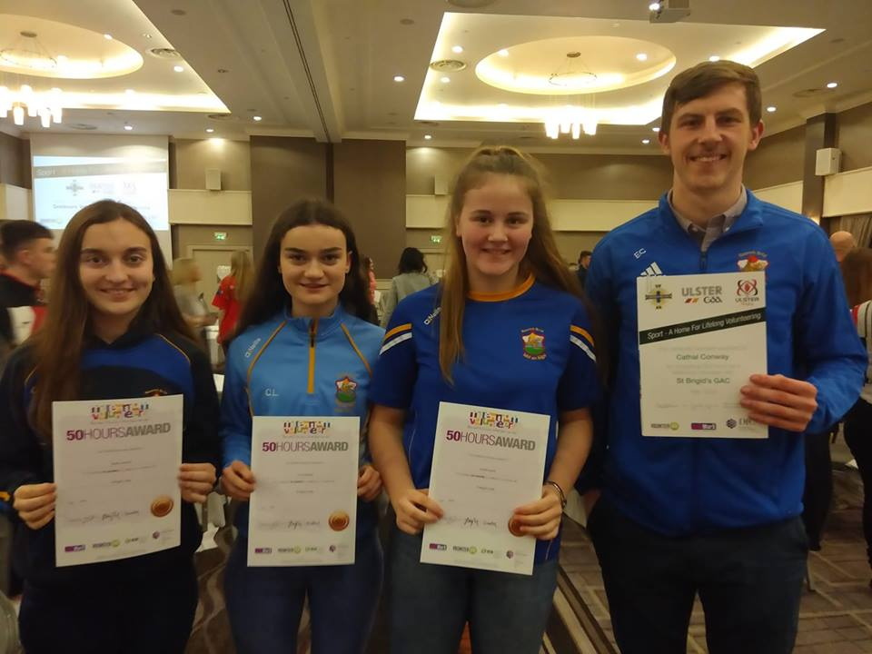 Young volunteers receive Goldmark Awards