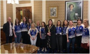 Senior Ladies And U21 Men Honoured At City Hall