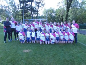 U12 Girls Officially Presented With New Jerseys