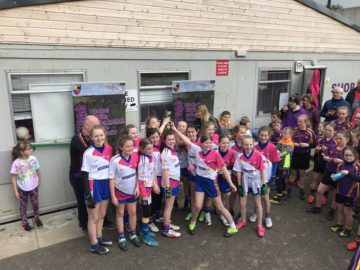 U12 Girls Victorious In Carryduff