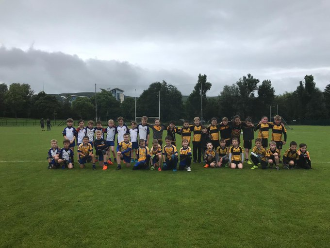 U8s And U9s Take Field Against Enda's And Patrick's