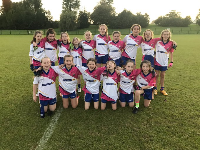 U12 Girls Enjoy Battle With St Gall's