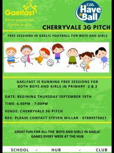 Gaelfast Returns This Week For Primary 2 & 3 Children